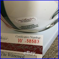 Dan Marino Signed Miami Dolphins Autographed Mini Helmet