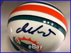 Dan Marino autographed signed auto Dolphins mini helmet Beckett COA