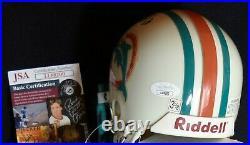 Dan Marino vintage autographed mini helmet Miami Dolphins signed JSA #LL88200