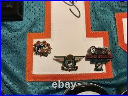 Dan marino jersey signed/ Miami Dolphins Memorabilia