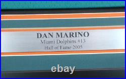 Dolphins Dan Marino Autographed Framed Mitchell & Ness Jersey XL Beckett 151436