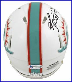 Dolphins Ricky Williams Smoke Weed Everyday Signed 2018 Speed Mini Helmet BAS