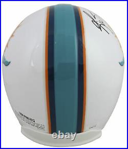 Dolphins Ricky Williams Smoke Weed Everyday Signed Full Size Rep Helmet JSA