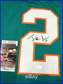 Frank Gore Miami Dolphins Signed Custom Throwback Jersey Jsa Coa Wpp188536 Hof