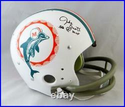 Jake Scott Autographed Miami Dolphins F/S 72 TK Helmet with SB MVP JSA W Auth