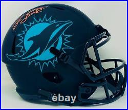 Jason Taylor Autographed Miami Dolphins Full Size Eclipse Speed Helmet JSA Au