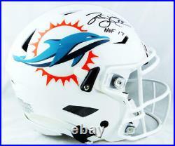 Jason Taylor Autographed Miami Dolphins SpeedFlex Helmet withHOF-JSA W Auth Black