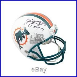 Jason Taylor HOF Autographed Miami Dolphins Full-Size Football Helmet JSA COA
