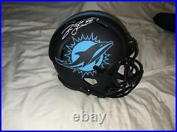 Jason Taylor Signed Miami Dolphins Full Size Eclipse Replica Helmet Jsa Coa