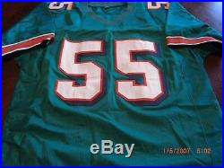Junior Seau Miami Dolphins, San Diego Chargers Gai & Beckett/coa Signed Jersey