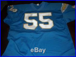 Junior Seau Miami Dolphins, San Diego Chargers Gai/coa Signed Jersey
