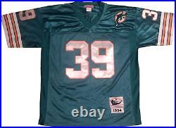 Larry Csonka HOF 87 Autographed Miami Dolphins Jersey (JSA)