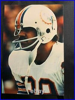 Larry Csonka Miami Dolphins Signed Autographed Mini Helmet HOF COA