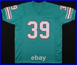 Larry Csonka Signed Miami Dolphins Jersey (JSA COA) 2×Super Bowl Champ VII, VIII