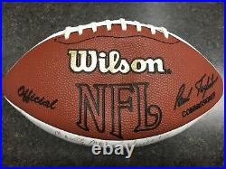Miami Dolphins 1972 Perfect season authentic signed football in mint