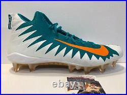 Miami Dolphins Zach Thomas Autographed Signed Nike Cleat Jsa Coa