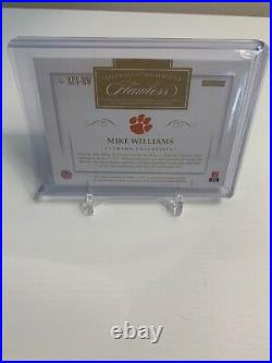 Mike Williams 2017 RC Flawless /20 RPA Patch Auto Ruby Diamond Clemson Tigers