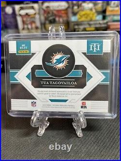 National Treasures Rookie NFL Shield Signatures 1/1 Tua Tungavaloa