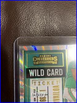 Panini Contenders Tua Tagovailoa Rookie Card. Wild Card. Signed Autograph Mint