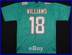 Preston Williams Signed Miami Dolphins Jersey (JSA COA) 2019 Wide Receiver
