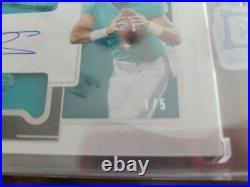 Rare 2020 Panini One Tua Tagovailoa 1/5! On card auto EBAY 1/1