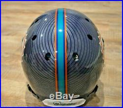 Ricky Williams Autographed Hydro Dipped FS Authentic Schutt Helmet Inscriptions