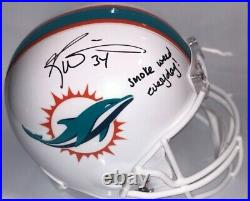 Ricky Williams Autographed Signed Full Size Helmet Miami Dolphins JSA