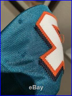 Ricky Williams Game Used Worn Signed Jersey Miami Dolphins JSA Texas Longhorns