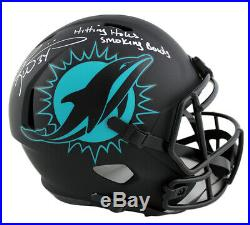 Ricky Williams Signed Miami Speed Full Size Eclipse NFL Helmet with Inscription