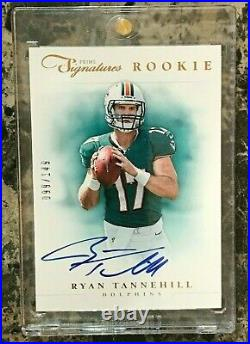 Ryan Tannehill 2012 Panini Prime Signatures 99/149 On Card Rookie AUTO Dolphins