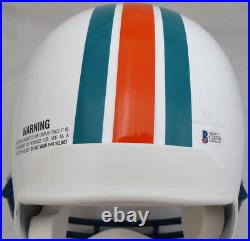 Sale! Dan Marino Autographed Signed Dolphins Full Size Helmet 83 Roy Beckett