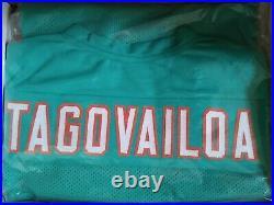 TUA TAGOVAILOA Miami Dolphins SIGNED Custom Jersey Beckett COA AUTOGRAPH
