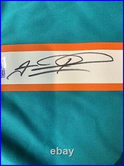 Tua Tagovailo Autograph Signed Dolphins Aqua Nike On Field L Jersey Fanatics