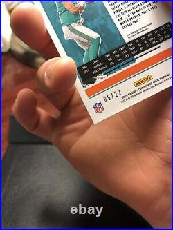 Tua Tagovailoa 2020 Contenders Cracked Ice On Card Auto # /22 Miami Dolphins Rc