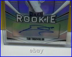 Tua Tagovailoa 2020 Leaf Metal Rookie Silver Refractor Signed Auto RC #'d 30/50