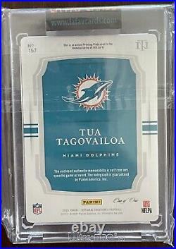 Tua Tagovailoa 2020 National Treasures 2-CLR TRUE RPA 1/1 Printing Plate MIAMI