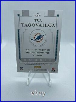 Tua Tagovailoa 2020 National Treasures Auto Jumbo Patch Booklet RC 25/99 RPA