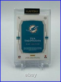 Tua Tagovailoa 2020 National Treasures Stars & Stripes Rpa Auto Patch 4/20
