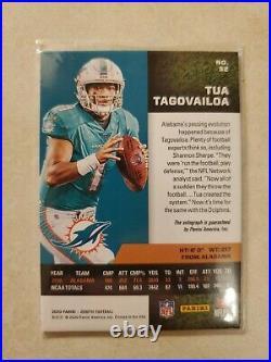 Tua Tagovailoa Autographed Zenith Rookie Card #10/25