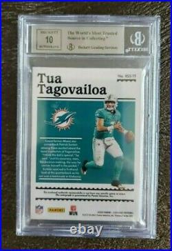 Tua Tagovailoa Dolphins 2020 FOTL Panini Encased 2/15 Auto graded 10 Card Mint 9