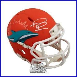 Tua Tagovailoa Miami Dolphins Autographed Amp Mini-Helmet Fanatics