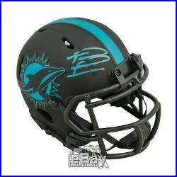 Tua Tagovailoa Miami Dolphins Autographed Eclipse Speed Mini-Helmet Fanatics
