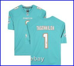 Tua Tagovailoa Miami Dolphins Autographed Nike Game Authentic Jersey, Fanatics