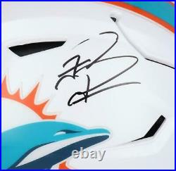 Tua Tagovailoa Miami Dolphins Autographed Riddell Speed Flex Authentic Helmet