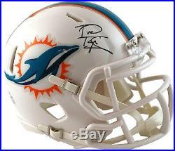 Tua Tagovailoa Miami Dolphins Autographed Riddell Speed Mini Helmet