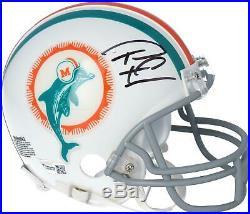 Tua Tagovailoa Miami Dolphins Autographed Riddell Throwback Mini Helmet