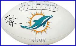 Tua Tagovailoa Miami Dolphins Autographed White Panel Football