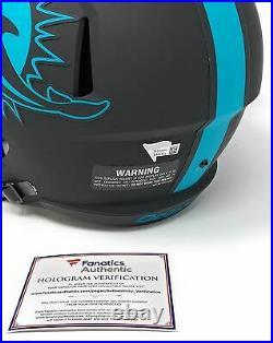Tua Tagovailoa Miami Dolphins Signed Autograph Full Size ECLIPSE Speed Helmet Fa