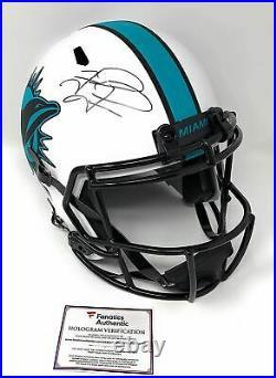 Tua Tagovailoa Miami Dolphins Signed Autograph Full Size LUNAR Eclipse Speed Hel