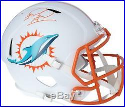 Tua Tagovailoa Miami Dolphins Signed Flat White Alternate Revolution Rep Helmet